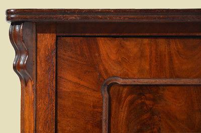Antike Louis Philippe Mahagoni Schrank Vertiko Kommode von 1870 8