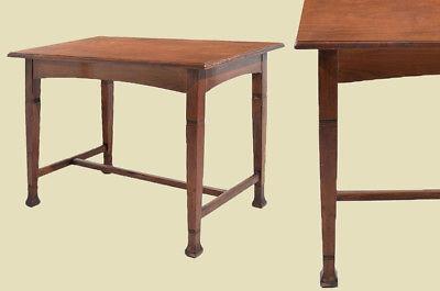 Antiker Jugendstil Nußbaum Esstisch Tisch Schreibtisch von 1920 0