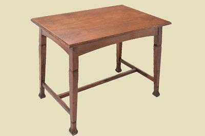Antiker Jugendstil Nußbaum Esstisch Tisch Schreibtisch von 1920 4