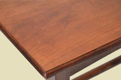 Antiker Jugendstil Nußbaum Esstisch Tisch Schreibtisch von 1920 6