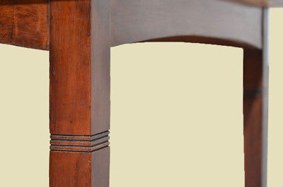 Antiker Jugendstil Nußbaum Esstisch Tisch Schreibtisch von 1920 7