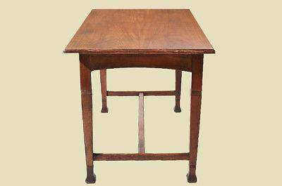 Antiker Jugendstil Nußbaum Esstisch Tisch Schreibtisch von 1920 9