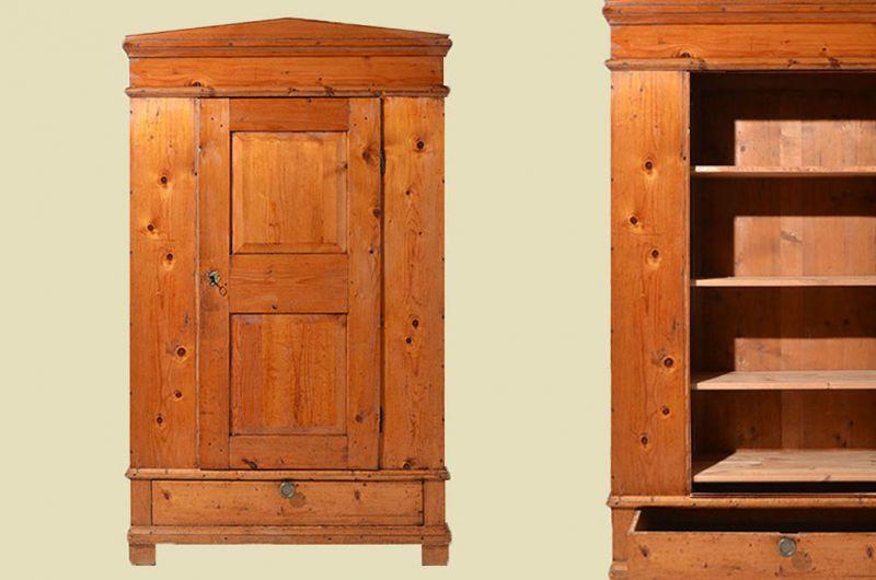 Antik Biedermeier Bauernschrank Kleiderschrank Wäscheschrank 1820 Nr ...