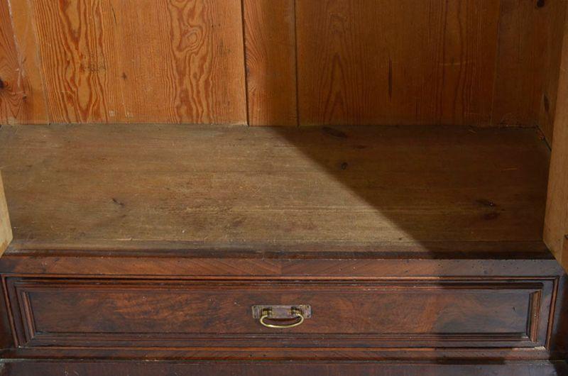 Antiker Gründerzeit Kleiderschrank Säulen & Schublade von 1880 7