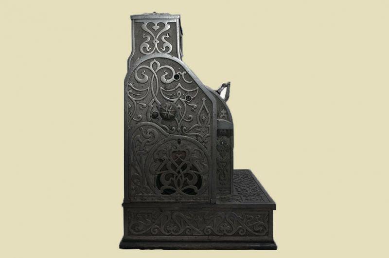 Antike Jugendstil NATIONAL Kasse Registrierkasse von 1905 - funktionstüchtig 4