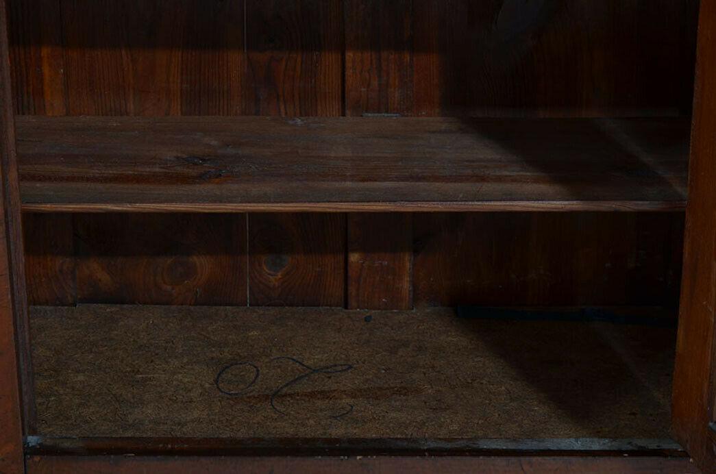 Antikes Louis Philippe Mahagoni Schrank Kommode Vertiko von 1870 5