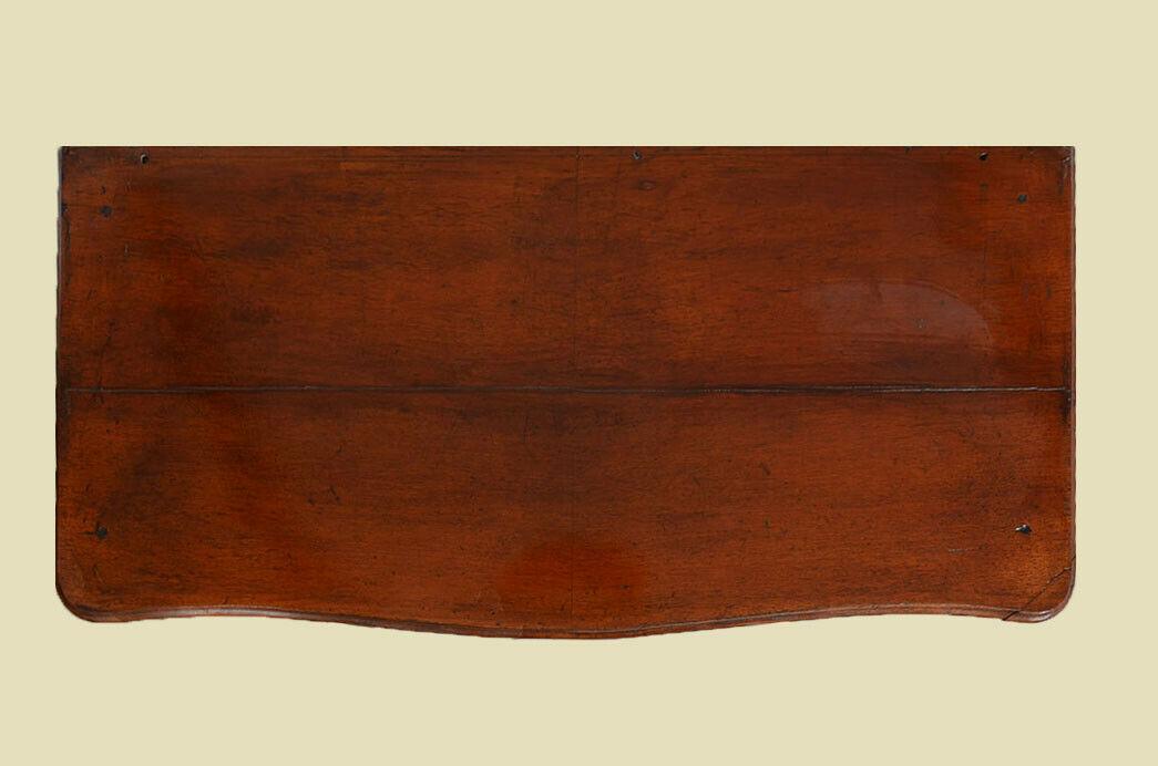 Antikes Louis Philippe Mahagoni Schrank Kommode Vertiko von 1870 7