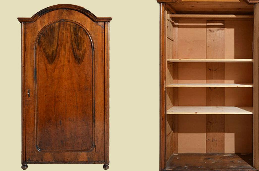Antik Louis Philippe Wäscheschrank Kleiderschrank Schrank von 1870 0