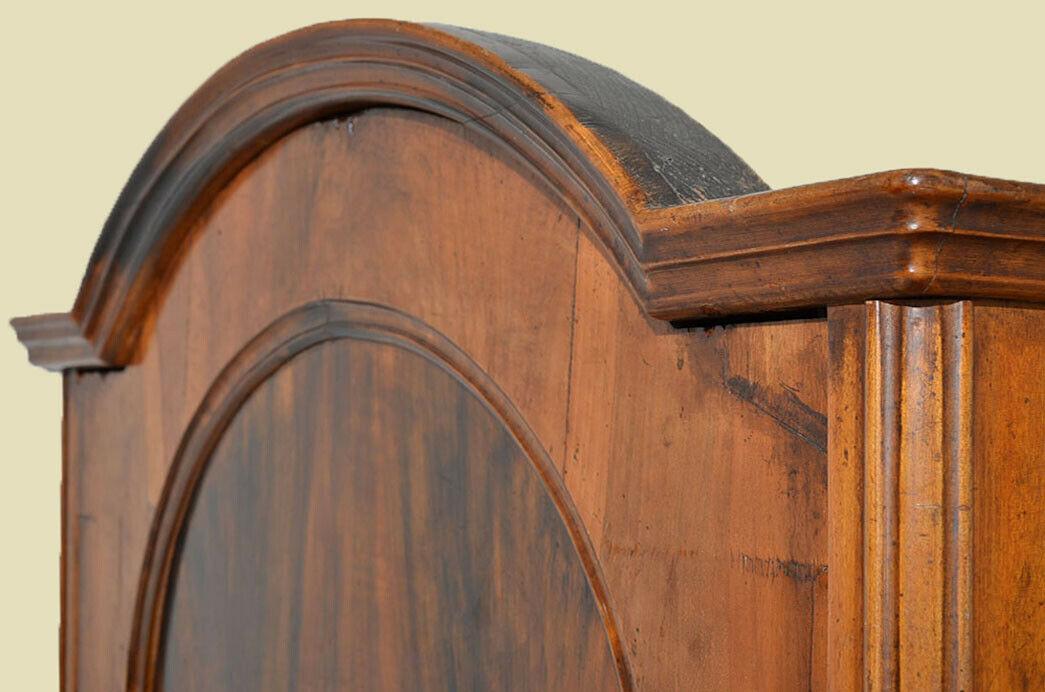 Antik Louis Philippe Wäscheschrank Kleiderschrank Schrank von 1870 10