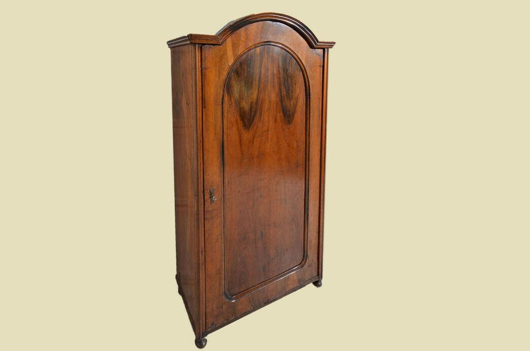 Antik Louis Philippe Wäscheschrank Kleiderschrank Schrank von 1870 3