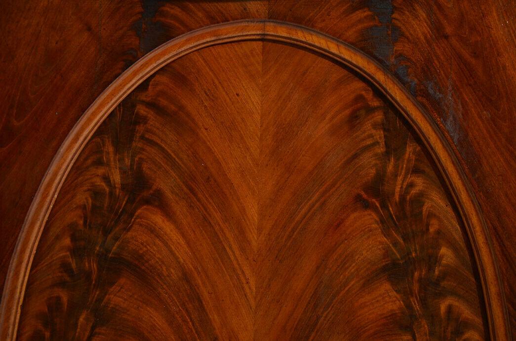 Antikes Louis Philippe Mahagoni Schrank Kommode Vertiko von 1870 11