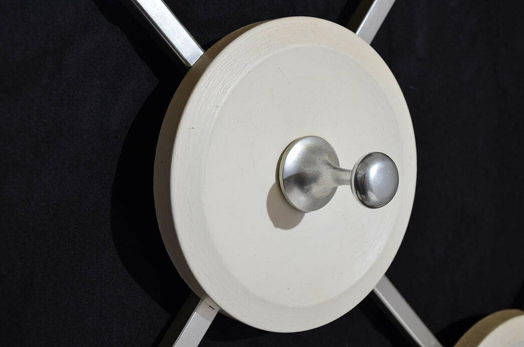 Antik 60er 70er Art Deco Sputnik Space Eames Vintage Teak Design Garderobe 6