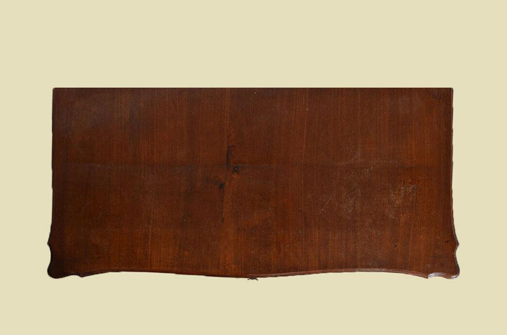 Antik Louis Philippe Mahagoni Schrank Kommode Vertiko von 1870 6
