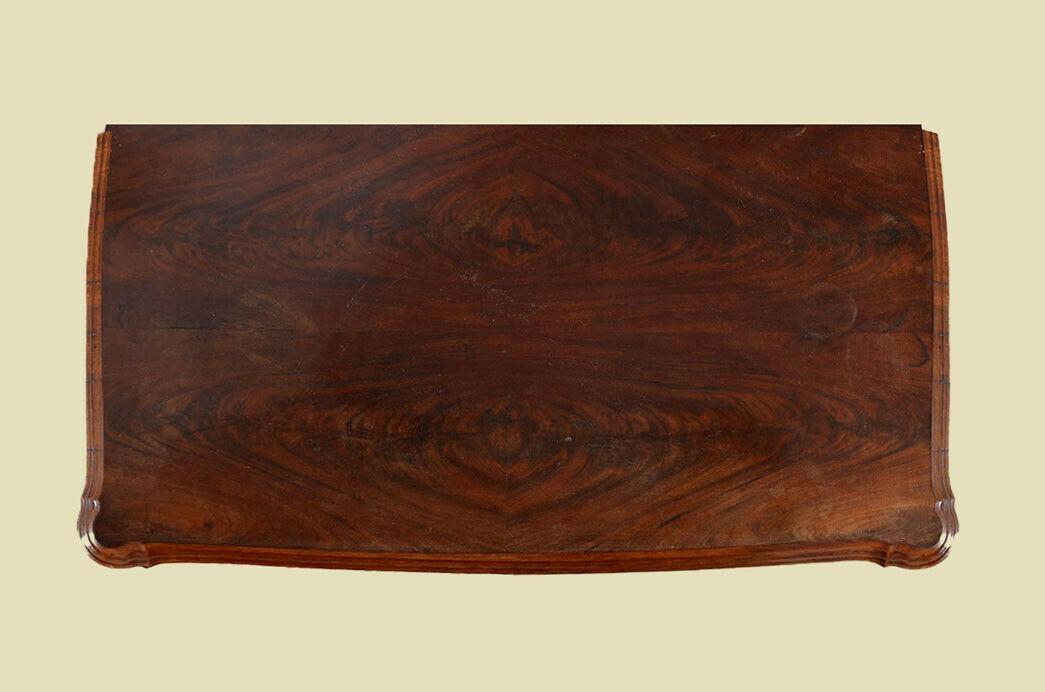 Antike Louis Philippe Mahagoni Herrenkommode Kommode von 1840 7