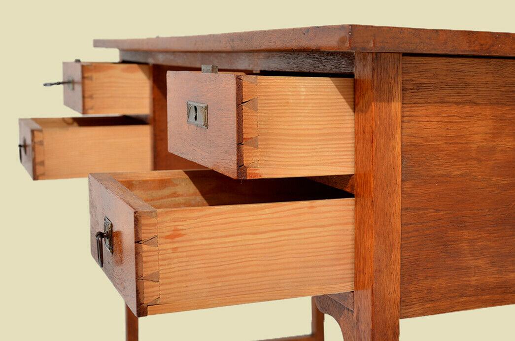 Edler Antik Jugendstil Schreibtisch Damenschreibtisch Sekretär von 1920 6