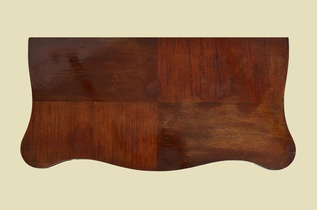 Kleiner Antiker LP Mahagoni Beistelltisch Spieltisch Tisch von 1860 5