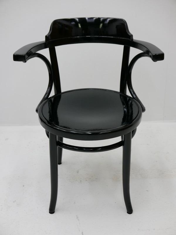 4115-Thonetsessel-Bugholz-Armlehnenstuhl-ORIGINAL THONET-Sessel-Stuhl-Kaffeehaus 0