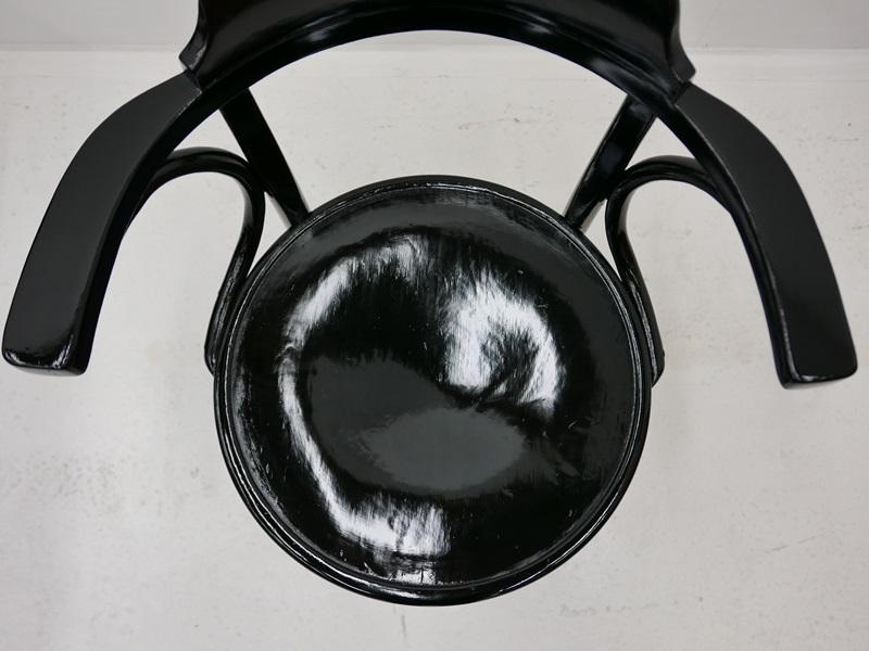 4115-Thonetsessel-Bugholz-Armlehnenstuhl-ORIGINAL THONET-Sessel-Stuhl-Kaffeehaus 2