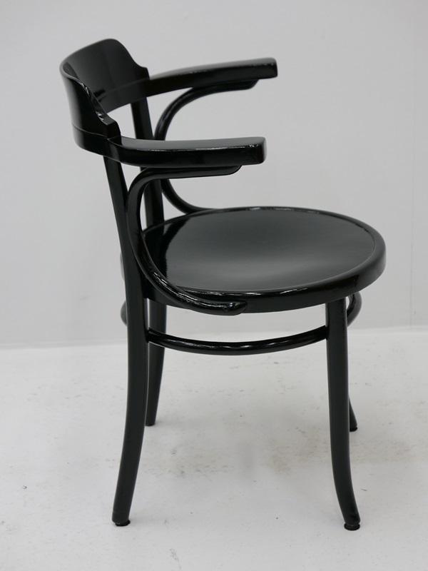 4115-Thonetsessel-Bugholz-Armlehnenstuhl-ORIGINAL THONET-Sessel-Stuhl-Kaffeehaus 4