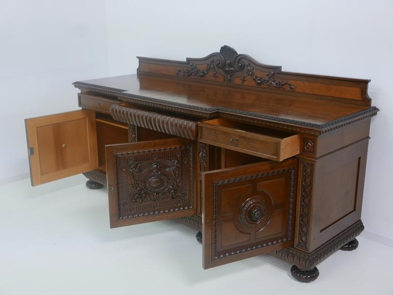 4632 anrichte sideboard halbhohes buffet kredenz halbhohe for Sideboard zirbenholz