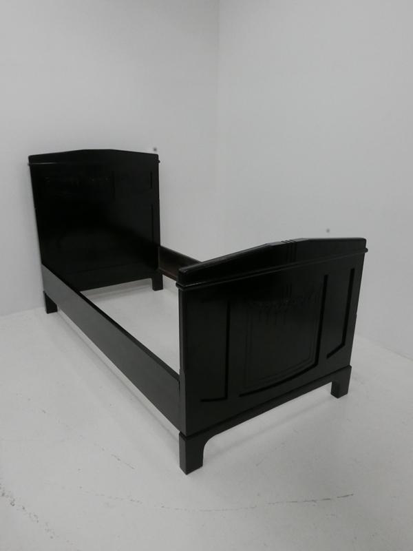 3176 3237 jugendstilbett bett liege einzelbett jugendstil schlafzimmerm bel schl nr. Black Bedroom Furniture Sets. Home Design Ideas