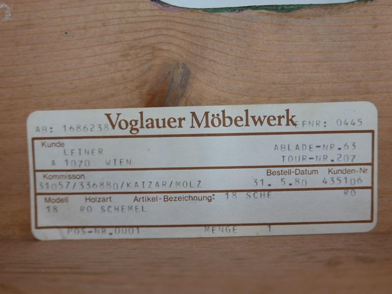 3659-Voglauer-Schemel-ORIGINAL VOGELAUER-Hocker-Stockerl-Voglauerhocker 3