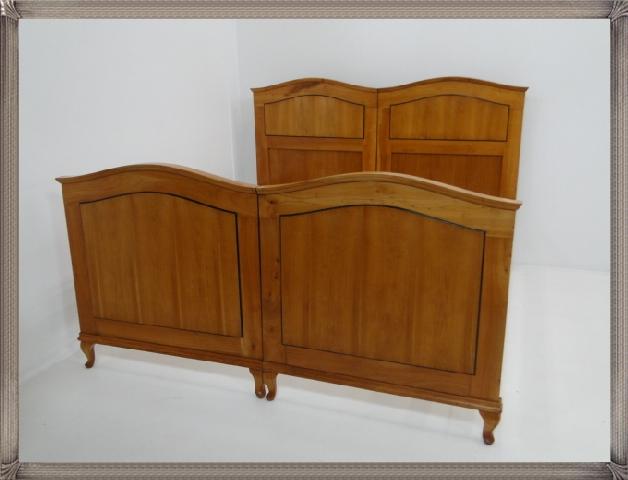 2661-Doppelbett-Art Deco-Jugendstil-Ehebett-Bett-Art Deco Bett-Jugendstil Doppel 0