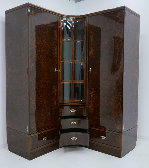 4703D-Art Deco Kasten-Schrank-Art Deco-Kleiderschrank-Kleiderkasten-Art Deco Sch 12