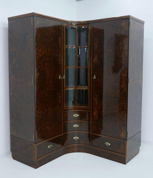 4703D-Art Deco Kasten-Schrank-Art Deco-Kleiderschrank-Kleiderkasten-Art Deco Sch 2