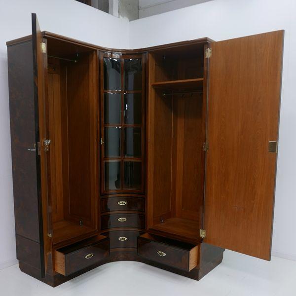 4703D-Art Deco Kasten-Schrank-Art Deco-Kleiderschrank-Kleiderkasten-Art Deco Sch 4