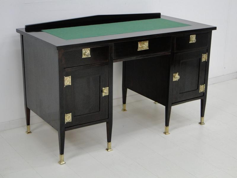 4954D-Jugendstilschreibtisch-Schreibtisch-Jugendstil-Schreibmöbel-Herrenschreibt 1