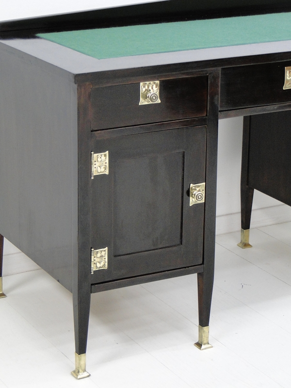 4954D-Jugendstilschreibtisch-Schreibtisch-Jugendstil-Schreibmöbel-Herrenschreibt 2