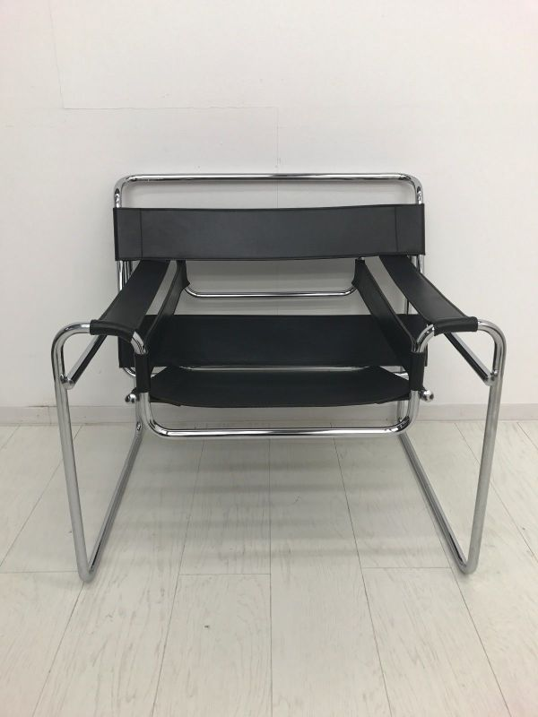 marcel breuer wassily stuhl stunning wassily marcel. Black Bedroom Furniture Sets. Home Design Ideas