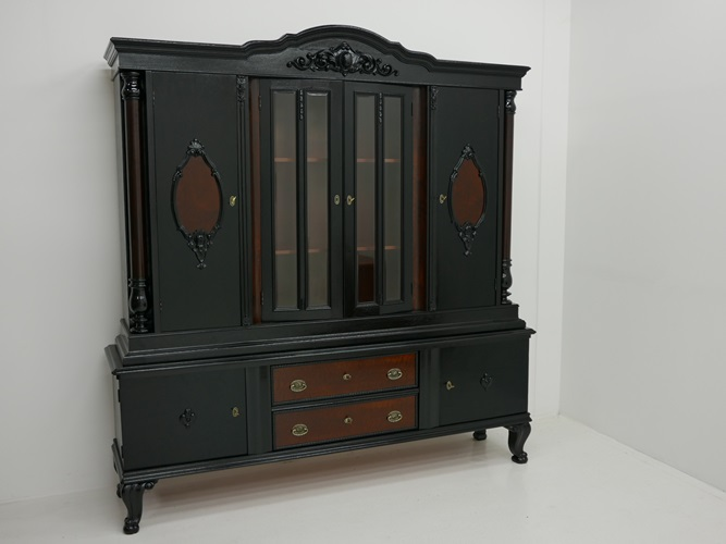 2003 art deco b cherkasten jugendstil b cherschrank b chervitrine art deco kaste nr. Black Bedroom Furniture Sets. Home Design Ideas