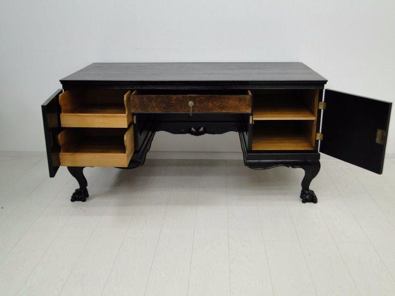 Barockstilschreibtisch-Schreibtisch-Barockstil-Chippendale-Sekretär 5