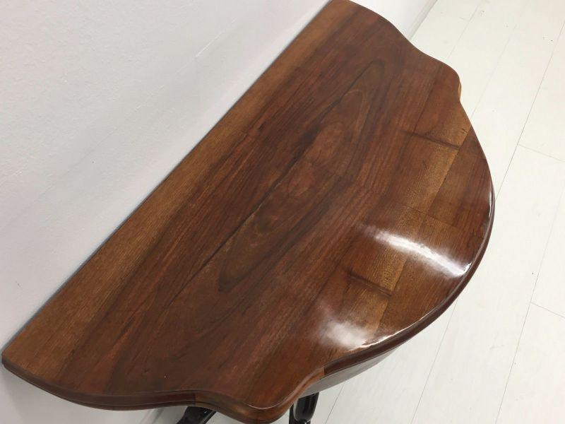 Biedermeier Konsolentisch-aufklappbar-Spieltisch-Tisch-BIedermeier Tisch 5