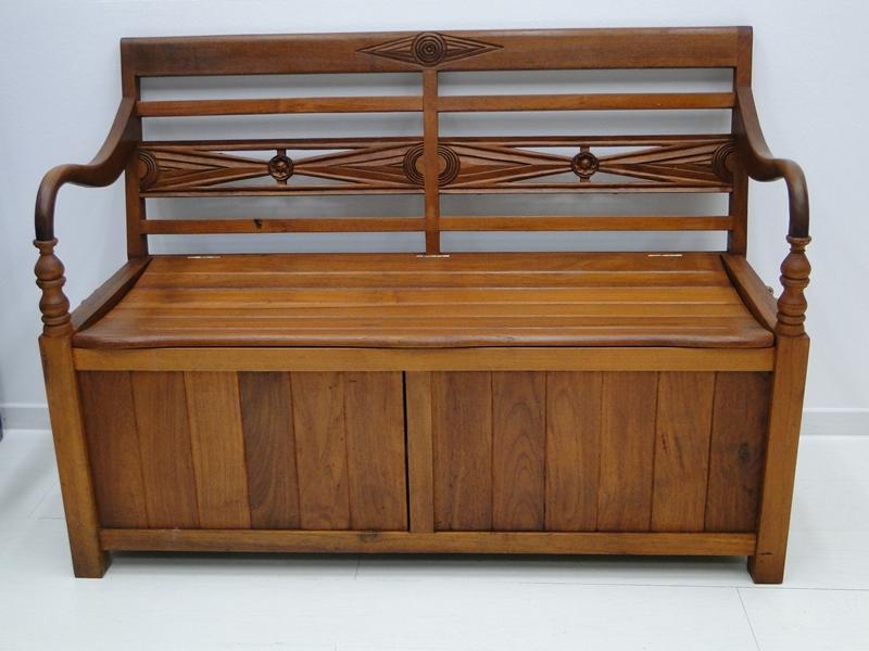 best holzbank mit truhe pictures. Black Bedroom Furniture Sets. Home Design Ideas