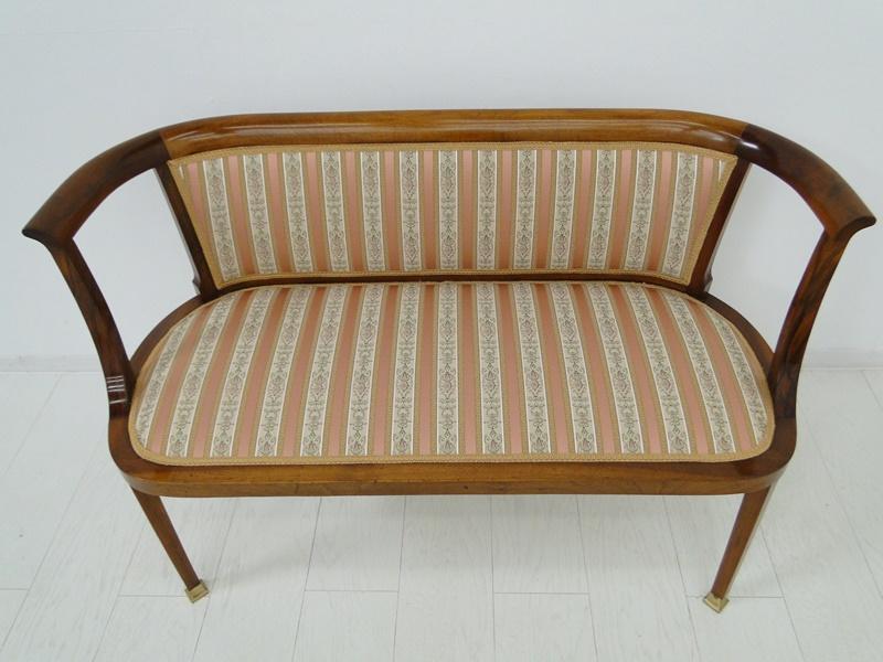Jugendstil sofa nr 38 oldthing biedermeierb nke for Couch jugendstil