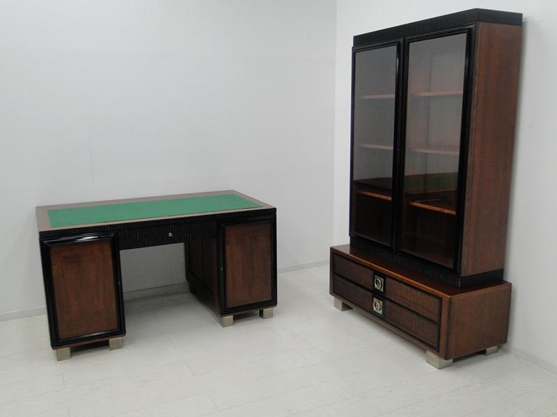 2150 art deco vitrine b chervitrine vitrinenschrank schrank jugendstil vitrine. Black Bedroom Furniture Sets. Home Design Ideas