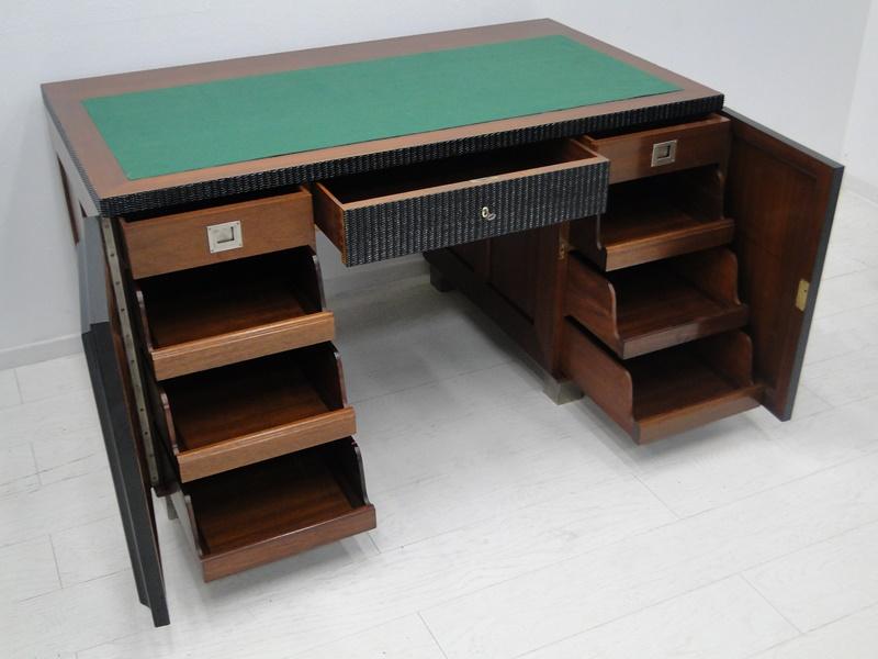2144 art deco schreibtisch tisch schreibm bel jugendstil. Black Bedroom Furniture Sets. Home Design Ideas