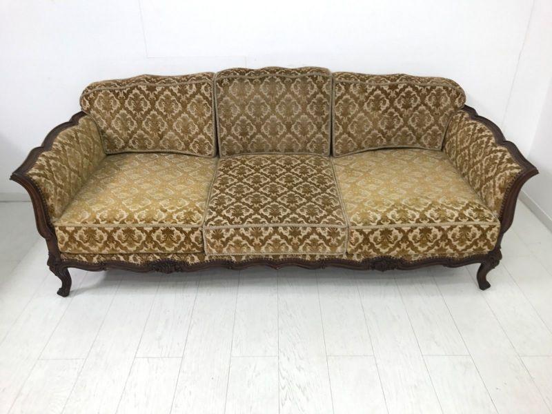Barockstil bank sofa sitzbank sitzm bel couch schlafsofa for Schlafsofa antik