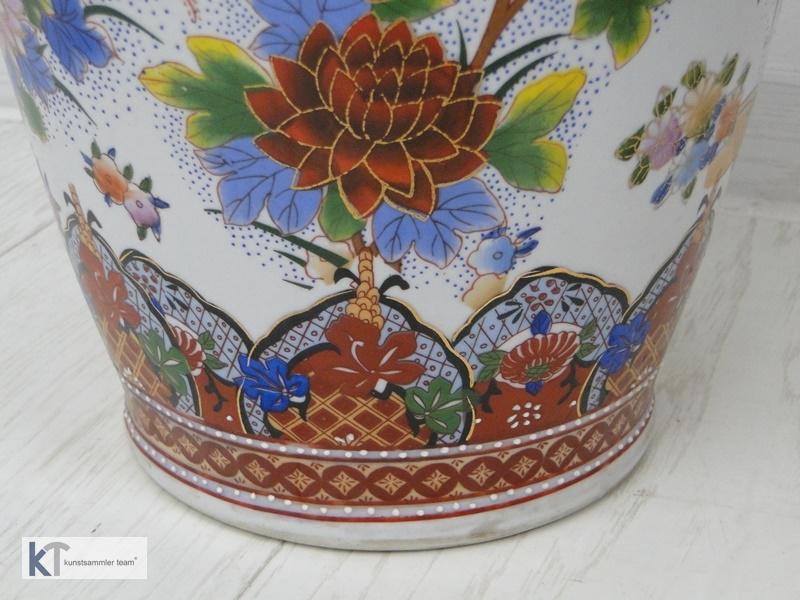 5393-Vase-Porzellan-Blumenvase-Porzellanvase-Dekorstück-Porzellanblumenvase- 1