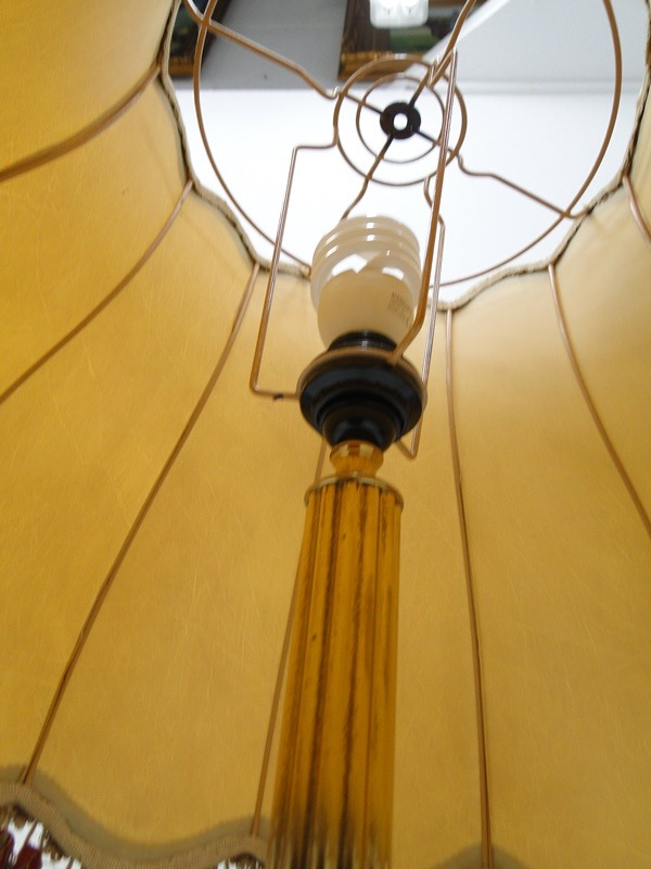 5217D-Messingleuchte-Stehlampe-Leuchte-Messing-Leselampe-Stehleuchte-Lampe-Lesel 3