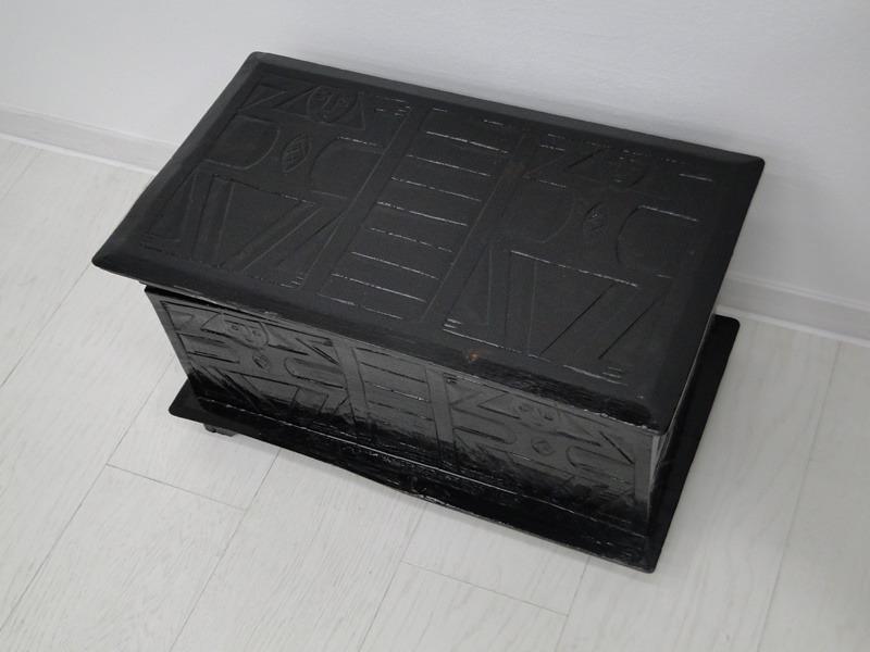 5199-Truhe-Schatztruhe-Kiste-Schatzkiste-lateinamerikanische Truhe-Schmuckkästc 1