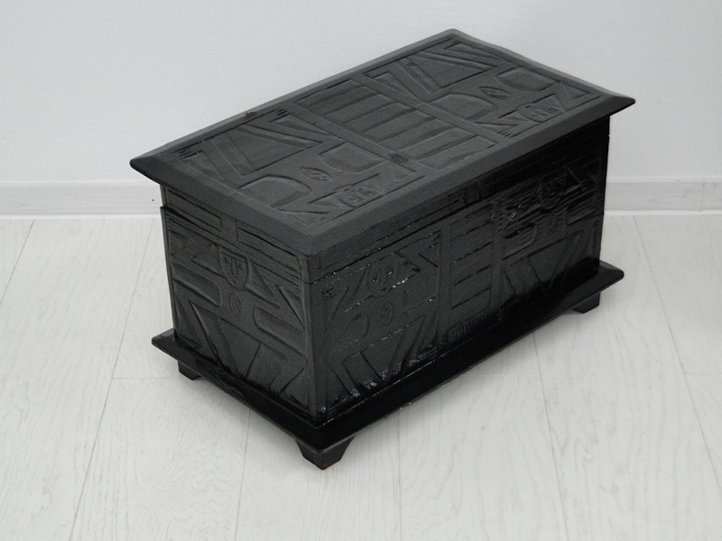 5199-Truhe-Schatztruhe-Kiste-Schatzkiste-lateinamerikanische Truhe-Schmuckkästc 5