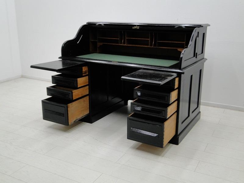 2707-amerikanischer Rollladenschreibtisch-Schreibtisch-Rollladenschreibtisch-ame 3