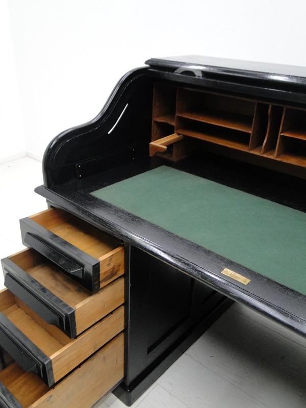 2707-amerikanischer Rollladenschreibtisch-Schreibtisch-Rollladenschreibtisch-ame 4
