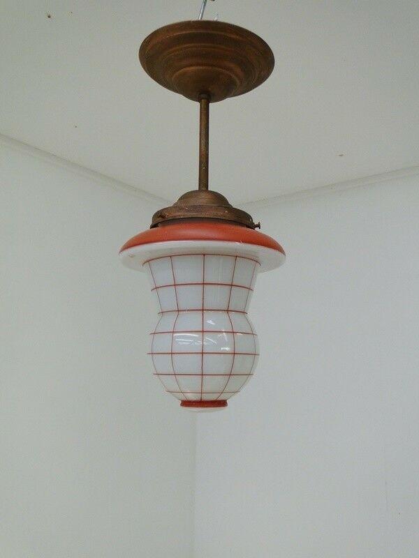 5919-Art Deco Luster-Deckenlampe-Art Deco-Lüster-Hängelampe-Leuchte-1flammig-Art 0