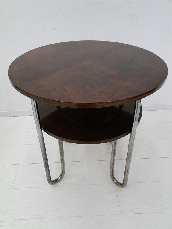 5081-Bauhaus Set-Tisch-Beistelltisch-Bauhaus Tisch-Vorzimmertisch