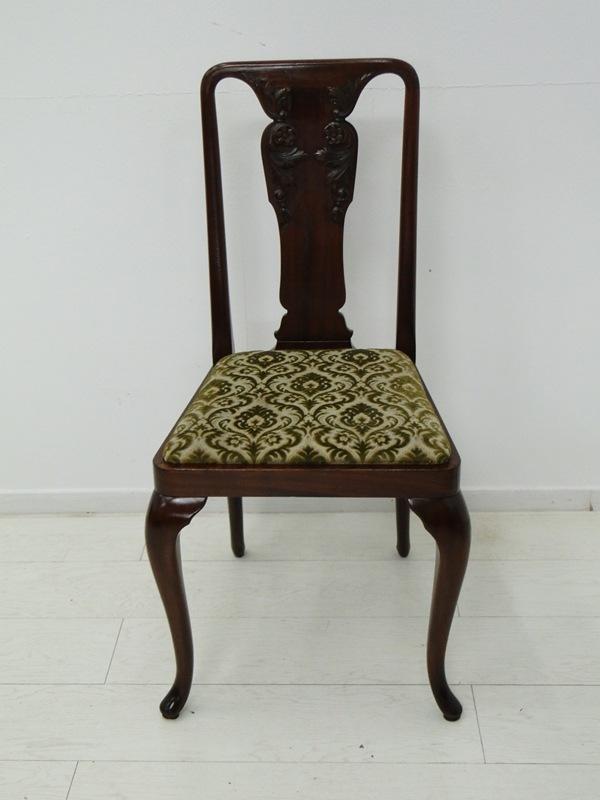 3010-3015 - Jugendstil Sessel-Stuhl-Polstersessel-Jugendstil Stuhl-Art nouveau